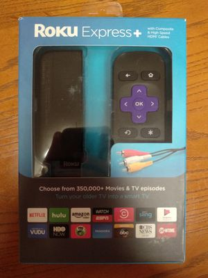 Roku Express Plus (open box new) for Sale in Woodinville, WA