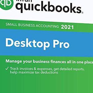 Quickbooks Desktop Pro 2021 for Sale in Newark, NJ