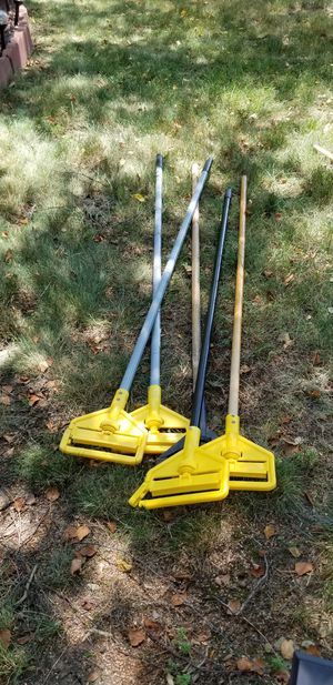 Commercial wet mop handles for Sale in Westerville, OH