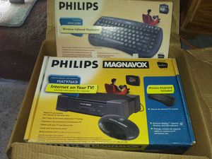 Phillips Magnavox internet receiver /keyboard for Sale in Peoria, IL