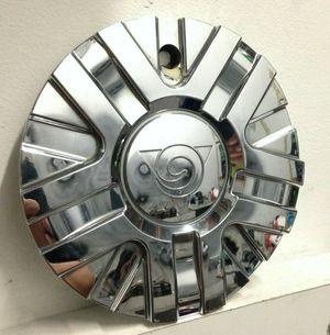 (1 Center Cap) Golden Wheels Chorme Center Cap Part # C-108 Aftermarket Hubcap Cover Used for Sale in Phoenix, AZ