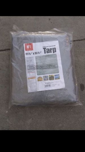 """Heavy duty reflective tarp 11ft.4""""x15ft.6"""". $25 for Sale in Windsor Hills, CA"""