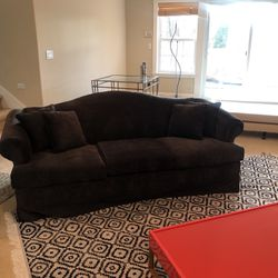 Graphite Velvet Sofa for Sale in Kirkland,  WA