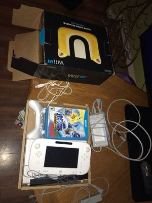Nintendo Wii U ( with games) for Sale in Joliet, IL