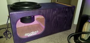 15 inch Dark Audio DK sub with custom ported box for Sale in Largo, FL