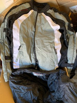 Motorcycle jacket size XL with thermal padding for Sale in Arlington, TX