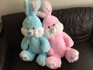 2 Large Easter Bunnies for Sale in Murrieta, CA