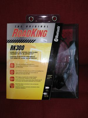RoadKing RX300 Bluetooth Headset for Sale in Frederick, MD