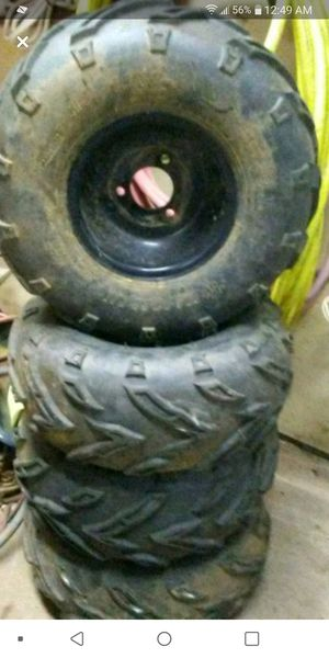 16-8-7 atv tires or could use on other stuff for Sale in Parkersburg, WV