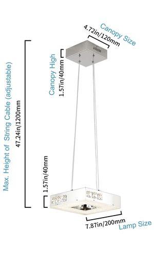 Modern mini chandelier (see description) for Sale in North Miami Beach, FL