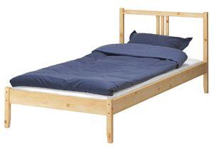 IKEA FJELLSE twin wood bed frame for Sale in Kirkland, WA