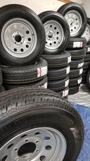 NEW TRAILER TIRES AND WHEELS STARTING AT $70+ TAX AND UP for Sale in Douglasville, GA