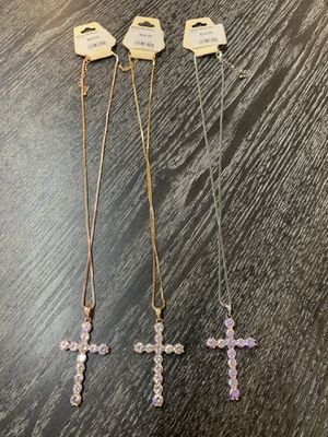 Cross necklace for Sale in Merced, CA