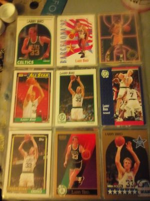Larry Bird John Stockton Chris Mullin and more collectible cards for Sale in Kansas City, MO