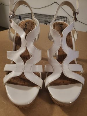 White Summer Heels, Lime Light Brand for Sale in Rolla, MO