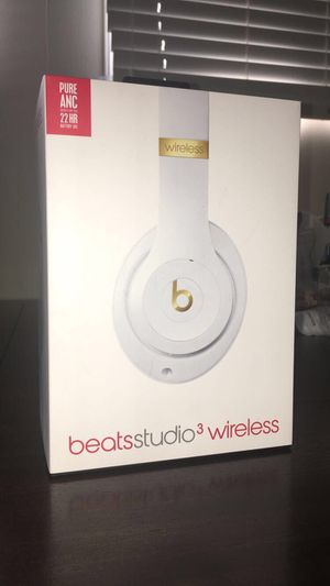 Beats Studio 3 Wireless (100% Authentic) for Sale in Hilliard, OH
