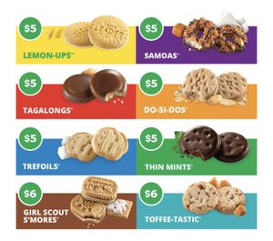 GIRL SCOUT COOKIES! for Sale in Sunnyside, WA