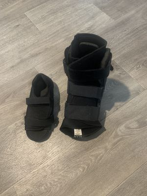 Surgery boot and shoe for Sale in Arlington, TX