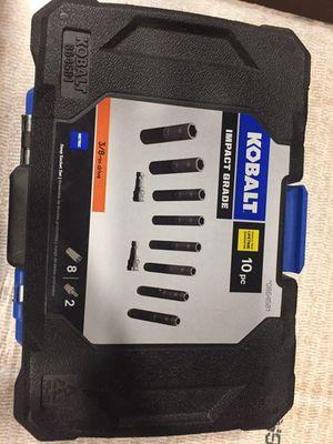 Kobalt impact sockets metric 3/8 drive for Sale in Long Beach, CA