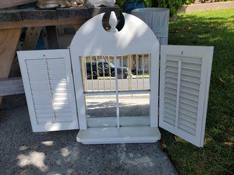 White mirror for Sale in HUNTINGTN BCH,  CA