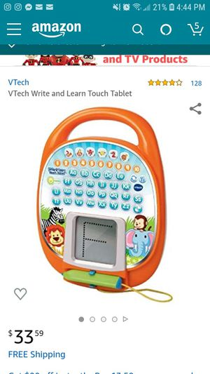 Learning tablet PreK kindergarten letters music fun for Sale in Wrightsville, PA