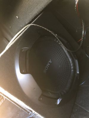 Sony Subwoofer & Alpine Amplifier for Sale in Austin, TX