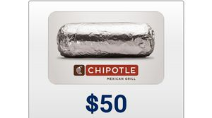 50$ chipotle for Sale in Germantown, MD