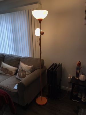 Tall Orange Lamp for Sale in Anaheim, CA