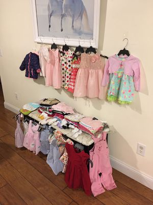 lot baby girl clothes size 12 months for Sale in Henderson, NC