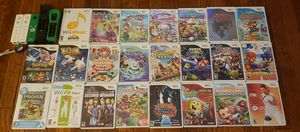 Nintendo Wii U and Gamepad, 23 Nintendo Wii Games and 5 Wiimotes for Sale in Boston, MA