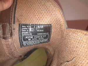Brazzo Steel Toe Work Boots for Sale in Dallas, TX