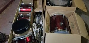 Drum set, added more pictures, not beginner set or kids set, real drum set for Sale in Stockton, CA