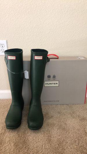 Hunter Women's Tall Waterproof Rain Boot for Sale in San Jose, CA
