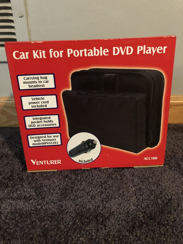 Car Kit for Portable DVD Player