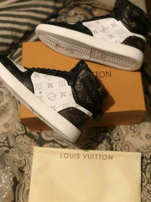 Louis Vuitton Hightops New in box mens show size 10 and 11 for Sale in Denver, CO