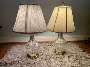 Antique Crystal Lamps for Sale in Falls Church, VA