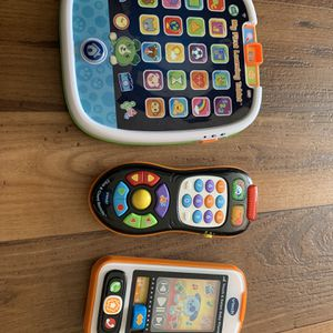 Brand New condition (no Box) Vtech Learning Toys, Tablet, Controller And Phone for Sale in Miami, FL
