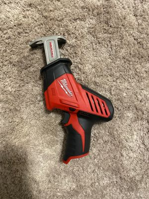 Milwaukee M12 Hackzall Recip Saw for Sale in Imperial Beach, CA