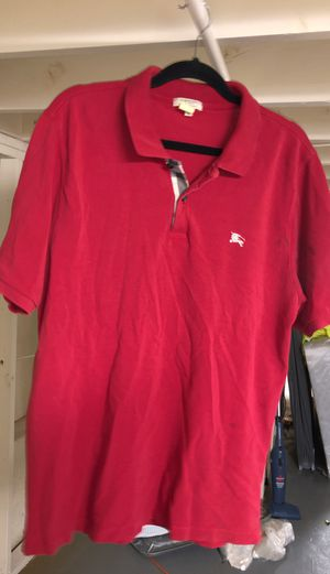 Burberry Men's Polo Shirt for Sale in Baltimore, MD