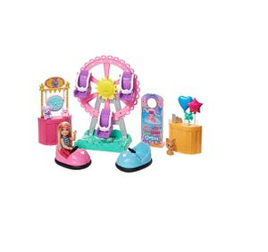 BRAND NEW Barbie Club Chelsea Doll and Carnival Playset, 6-inch Blonde Wearing Fashion and Accessories for Sale in Orlando, FL
