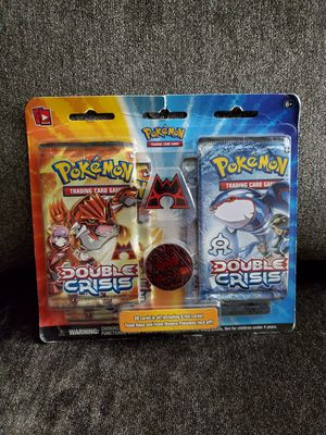 Pokemon Double Crisis Blister Pack *VINTAGE* for Sale in Rutherford, NJ