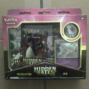 Pokémon hidden fates Mew pin collection box unopened for Sale in Fresno, CA