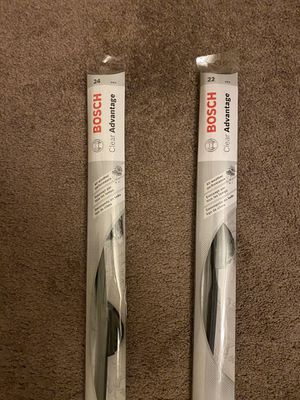 "Bosch Clear Advantage Wiper Blade 24"" and 22"" for Sale in McLean, VA"