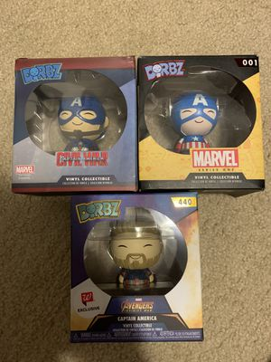 Captain America Dorbz for Sale in Joint Base Lewis-McChord, WA
