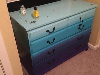 Ombré Solid Wood Dresser for Sale in Portland,  OR