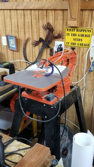 """PS Wood Machines 14"""" Scroll Saw for Sale in Poway, CA"""