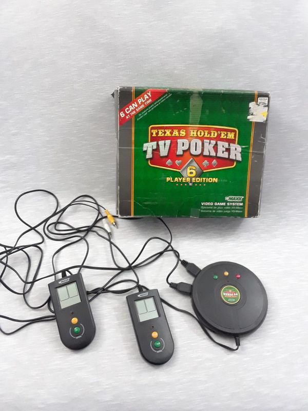 Texas Holdem TV Poker Game 6 players Fun