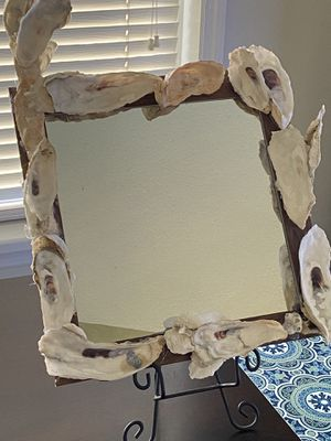 Oyster mirror $25 for Sale in North Charleston, SC
