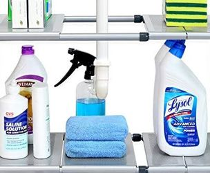 Under Sink 2 Tier Expandable Shelf Organizer for Sale in Fresno,  CA