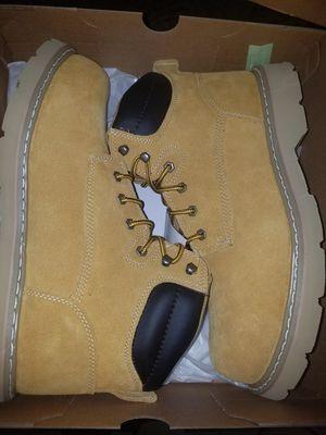 Women work boots steel Toe for Sale in Las Vegas, NV